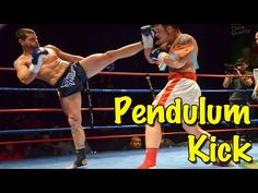 The Pendulum Kick - A Quick, Effective Kicking Technique by Chris Clodfelter of 8 Points Muay Thai - YouTube