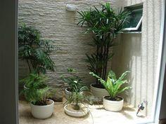 varanda com jardim de inverno e blindex - Pesquisa Google