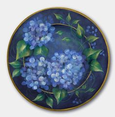 Maureen Baker's BLUES OF SUMMER will be featured in Issue #1 2013 of The Decorative Painter, now at press!