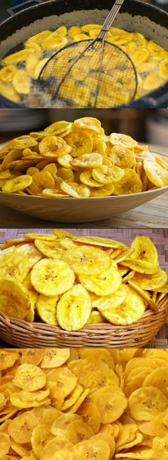 Chips De Banana - Art Tutorial and Ideas Best Nutrition Food, Health And Nutrition, Banana Chips, Sweet Recipes, Healthy Recipes, Street Food, Food Porn, Food And Drink, Yummy Food