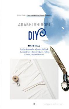 Shibori DIY - Anleitung zum Selbermachen. Shibori, Paper, Textiles, Fabrics, Diy Crafts