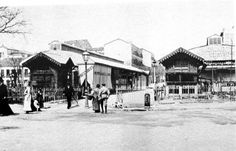 Plaza de Olavide en 1880