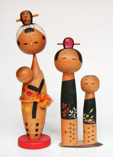 Kokeshi Dolls  #japan #kokeshi