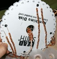 Learn Kumihimo As Easy As 1-2-3 - Daily Blogs - Beading Daily - good pictures of what they are doing.