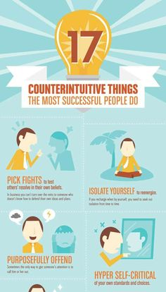 Unconventional Things successful people do