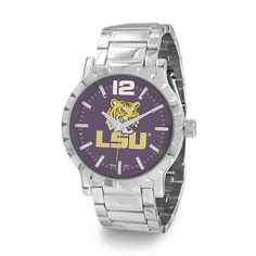 Collegiate Licensed Louisiana State University Men's Fashion Watch