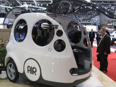 Tata commercializing an air-powered car - CNET ^