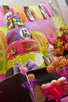 Little Big Company | The Blog: Little Big Company's 80s Themed Party Styling