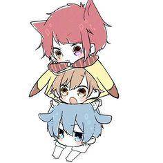 Cute Anime Chibi, Kawaii Anime, Rpg Horror Games, Kawaii Stickers, Vocaloid, Cute Art, My Idol, Character Art, Anime Art