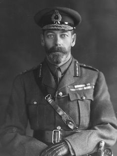 King George V looking right at you.