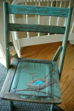 Friendly communicated shabby chic furniture projects Take a look at Whimsical Painted Furniture, Hand Painted Chairs, Hand Painted Furniture, Funky Furniture, Refurbished Furniture, Paint Furniture, Repurposed Furniture, Shabby Chic Furniture, Furniture Projects