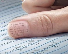 Exam Cheating Funny Wallpaper