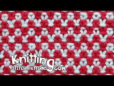 Two color Linen Stitch. Free Knitting Pattern includes written instructions and video tutorial. Dishcloth Knitting Patterns, Knitting Stiches, Knit Dishcloth, Knitting Videos, Loom Knitting, Knit Patterns, Crochet Stitches, Stitch Patterns, Free Knitting