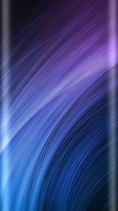 Blue and Purple Gradation Wallpaper