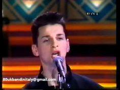 Depeche Mode Stripped Sanremo 1986