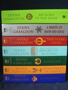 Diana Gabaldon's, Outlander Series ~ need to read these