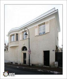 Villa Mirande (1924) 3, rue de Montesquiou Saint-Cloud 92210. Architecte : Louis Süe