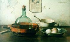 Johannes Jacobus Maria 'Jan' Bogaerts (Den Bosch 1878-1962 Wassenaar) A still life with eggs -