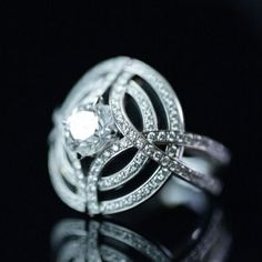 Diamond rings that defy convention                                                                                                                                                                                 More