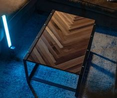 Herring Bone Industrial Coffee Table : 15 Steps (with Pictures) - Instructables Business Furniture, Diy Furniture, Outdoor Furniture, Bathroom Furniture, Furniture Design, Home Design, Dog Washing Station, Mud Kitchen, Hammock Chair