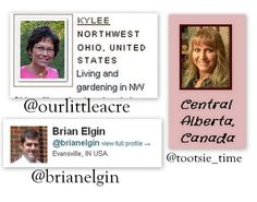 November 14,2011 with @OurLittleAcre @Tootsie_Time @brianelgin sharing tips and ideas on growing year-round. Transcript / #gardenchat