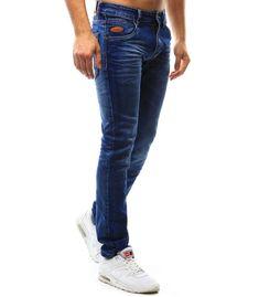 Modré džínsové pánske nohavice Modeling, Jeans, Fashion, Moda, Fasion, Models, Jeans Pants, Blue Jeans, Denim