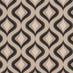 Graham & Brown 56 sq. ft. Trippy Gray Wallpaper-30-450 at The Home Depot