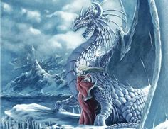 Ice dragon and Mistress
