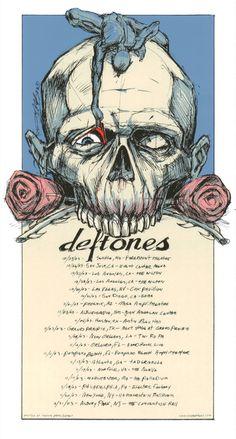 Derek Hess | Deftones. I HAVE THIS!!