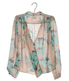 Summer Essentials - Floral, Chiffon Tops or Kimonos: Great with Shorts, Great for the Beach #r29summerstyle