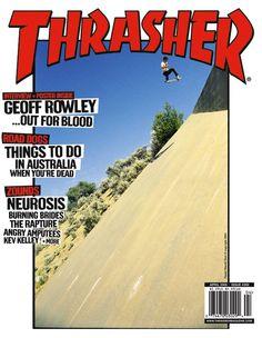 One of my favorite Thrasher covers. Flip Skateboards, Skate Photos, Thrasher Magazine, Skate And Destroy, Skate Art, Magazine Layout Design, Skateboard Art, Album, Journals