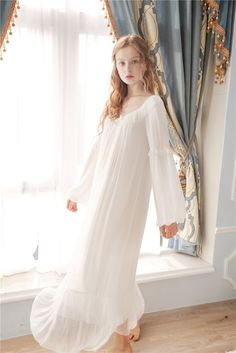 9c065b7b7c Lily s Secret Ultra Soft Gauze Vintage Night Gown Women Spring. Vintage  NightgownGlam DressesPrincess ...