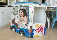 OTO Cardboard Ice Cream Truck