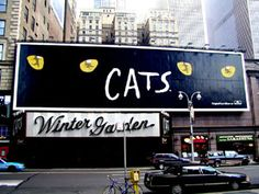 The Winter Garden Theater, home to my first Broadway play Cats.