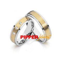 Alianças de Casamento e Noivado em Ouro 18k e Prata - ALM530 Wedding Rings, Engagement Rings, Latina, Store, Jewelry, Gold Wedding Rings, Cushion Wedding Bands, Jewels, Stones