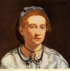 Edouard Manet - Portrait Of Victorine Meurent