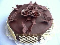 Kávový dort s čokoládou