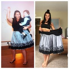 "Tag Someone Thats Making a Fitness Transformation  Want to Make a Transformation Like This? Check bio for our Five Star 90-day Transformation Program!  Use #TransformFitspoCommunity for a chance to Get Your Transformation Featured  @ericafitlove ""I was an ecstatic size 24 in that before picture.  I had lost about 40 lbs by my aunts wedding and was on cloud  9 that I found a stylish dress in my size!  I wore flip flops because my feet were always so puffy that heels wouldn't last more than…"