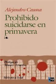 Prohibido suicidarse en primavera Alejandro Casona Undécimo año
