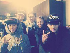 BTS Tweet (Pre-debut) -- Jimin & Jungkook - 130407