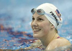 Missy Franklin is an inspiration, turning down endorsement deals just to be able to swim with her high school swim team.
