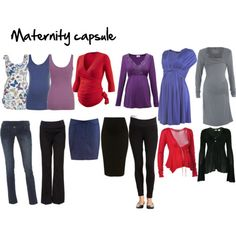 this is all you need buying during pregnancy. i would only add shorts for those due in summer/autumn.