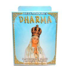 http://www.maniasemanias.com/produto/defumador-em-cone-virgem-fatima - DEFUMADOR EM CONE VIRGEM FÁTIMA - Os defumadores funcionam através do odor e fumo que se desprendem durante a sua queima, propiciando  a energia a que cada um se destina. - Função: Este defumador está destinado para protecção e saúde - Contém instruções e oração. Embalagem: caixa contendo 15 cones