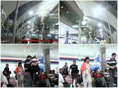 The condition at Emirates Dubai Airport ✈