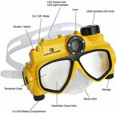 Water Camera Mask – Keeps the underwater memories safe ( read more and see where you can buy - http://upgrade.ly/?p=114 )