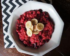 It's pure food: Red breakfast