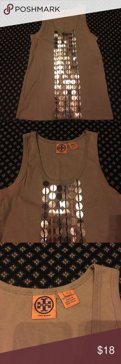 Tory Burch Tank Top Very good condition, stylish design and great color Tory Burch Tops Tank Tops