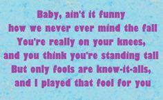 This ain't a love song- Bon Jovi