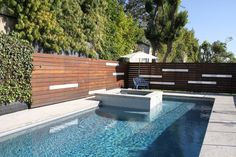 Name: Warren Techentin and Mimi Techentin Location: Los Feliz, CaliforniaSize: 3600 Square FeetYears lived in: 4 years Raised Pools, Tree Grate, Backyard Paradise, Modern Fence, Roof Design, Cool Pools, Pool Landscaping, Interior Exterior, The Great Outdoors