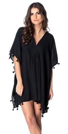 Red Carter 2015 Spice & Dice #Black Tassle #CoverUp RCSD115C02-BLACK